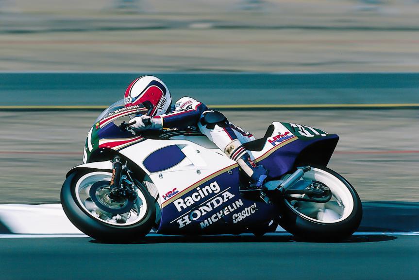 Dominique Sarron, GP de Gran Bretaña, Silverstone 1986