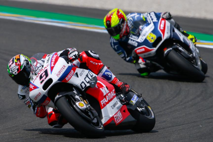 Danilo Petrucci, OCTO Pramac Yakhnich, Hector Barbera, Avintia Racing, Monster Energy Grand Prix de France