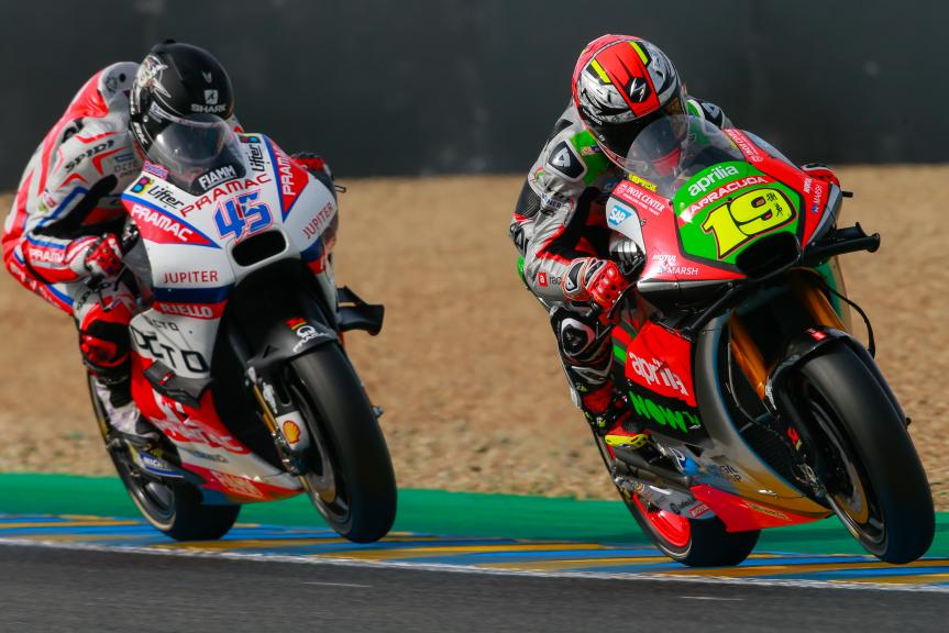 Alvaro Bautista, Aprilia Racing Team Gresini, Scott Redding, OCTO Pramac Yakhnich, Monster Energy Grand Prix de Franc