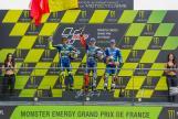 Jorge Lorenzo, Valentino Rossi, Maverick Viñales, Monster Energy Grand Prix de France