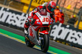Nakagami marca la referencia en el warm up de Moto2™