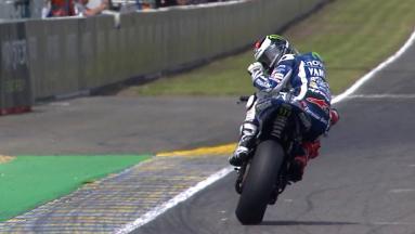 Triunfo de Lorenzo, podio de Viñales y caída de Márquez
