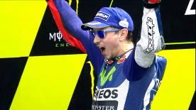 The Spanish rider gets his second victory of the season after leading from start to finish.