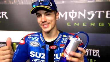 Viñales: 'I was feeling good on the bike'