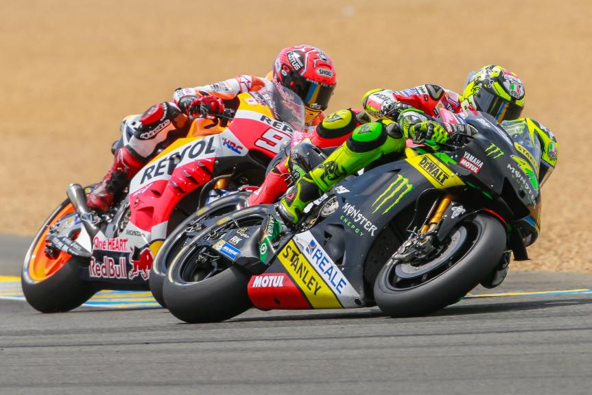 Pol Espargaro, Monster Yamaha Tech 3, Marc Marquez, Repsol Honda Team, Monster Energy Grand Prix de France