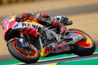 "Marquez: ""I had to take risks"""