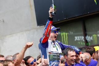 "Lorenzo: ""Everything has been almost perfect"""