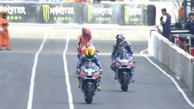 The full Warm Up session for the MotoGP™ World Championship at the French GP.