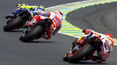 Rossi's amazing fight back