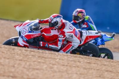 "Dovizioso: ""I found myself on the ground"""