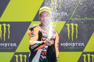 "Corsi: ""I really wanted to jump on the podium"""