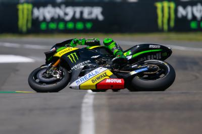 "Espargaro: ""The bike slid so much"""