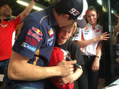 Marquez Blog: Thanks for your support
