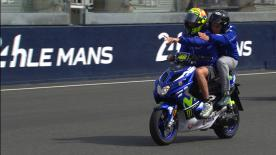 Go behind the scenes and experience a day in the life of Rossi's performance analyst.