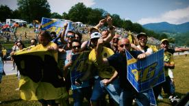 Rossi fans wil be out in force to try and cheer the Italian on to his long-awaited first victory there since 2008.