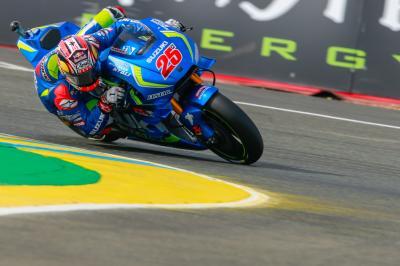 Suzuki vuelve al podio de MotoGP™ con Maverick Viñales