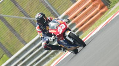 Andi Izdihar takes first race at Sepang