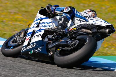 Hernández: «Espero que tengamos una moto competitiva»
