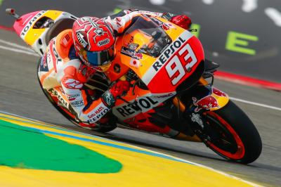 "Marquez: ""We will go with the podium as a target"""