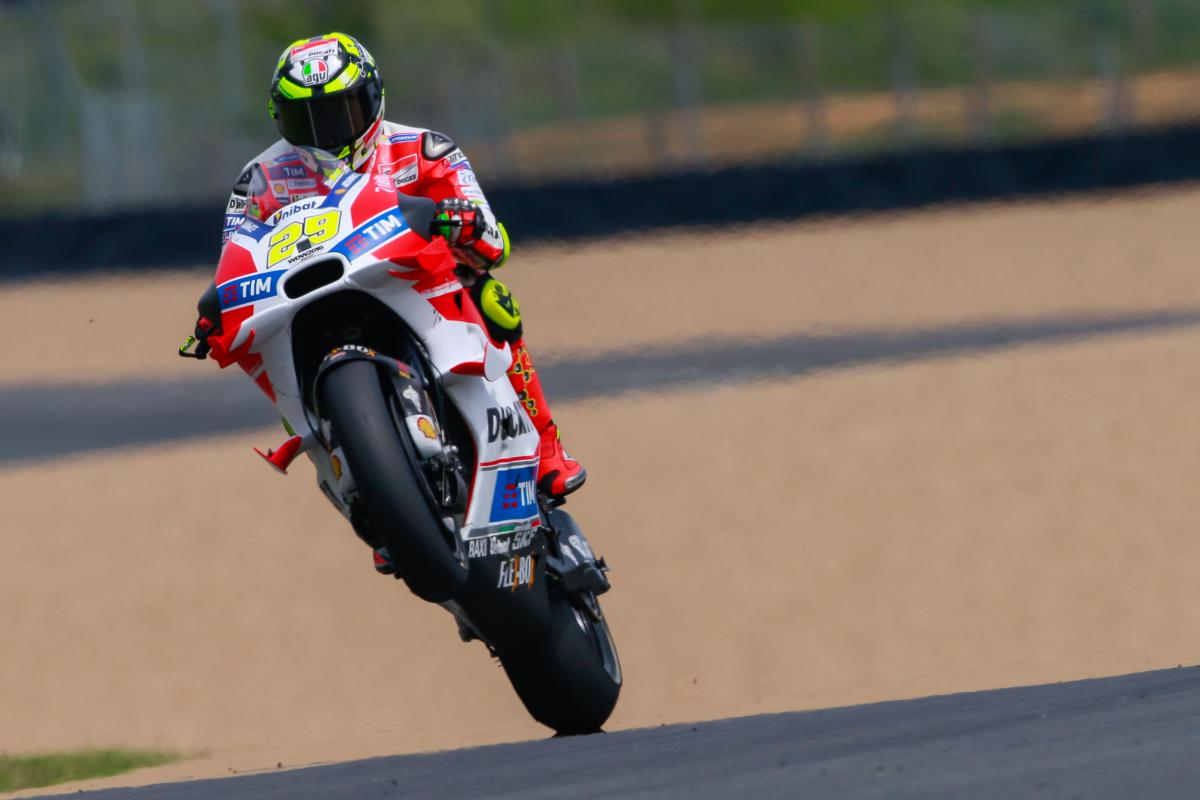 "Iannone: ""Last year's GP was one of the best moments"" 