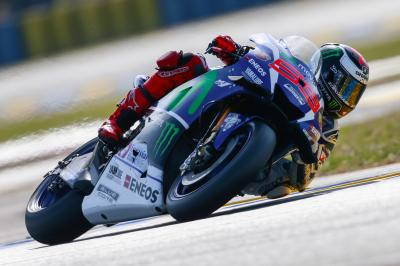 "Lorenzo: ""The layout is perfect for the YZR-M1"""