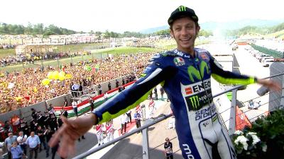 #FF: Rossi's stunning comeback at Mugello in 2015