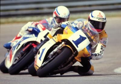 La combinazione vincente: un italiano, Suzuki e Michelin