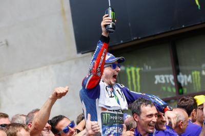 ロレンソが史上2位&4位タイの表彰台獲得記録