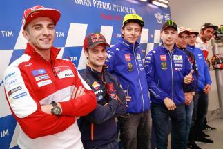 La conferenza stampa apre il GP d'Italia