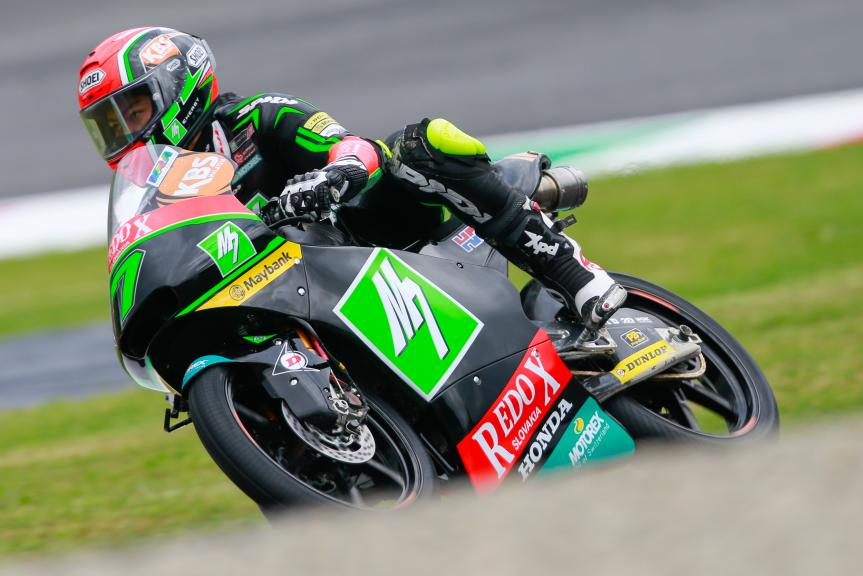 Adam Norrodin, Drive M7 SIC Racing Team, Gran Premio d'Italia TIM