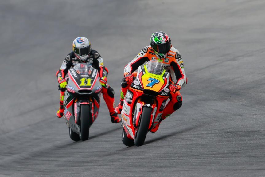 Sandro Cortese, Dynavolt Intact GP, Lorenzo Baldassarri, Forward Team, Gran Premio d'Italia TIM