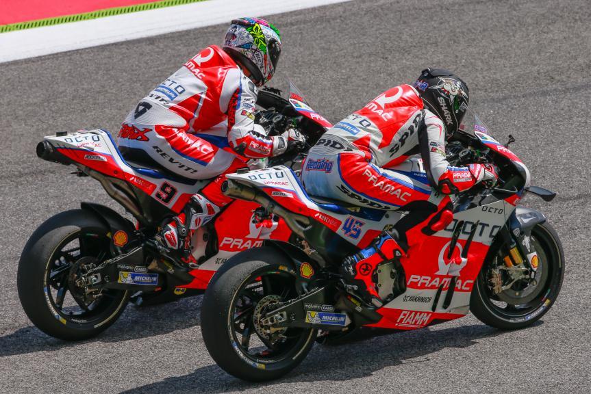 Danilo Petrucci and Scott Redding, OCTO Pramac Yakhnich, Gran Premio d'Italia TIM