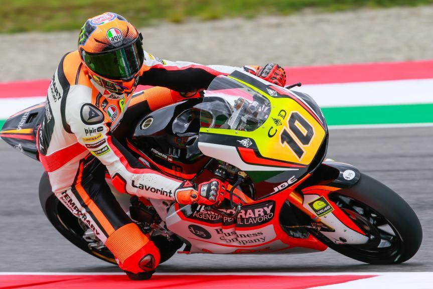 Luca Marini, Forward Team, Gran Premio d'Italia TIM