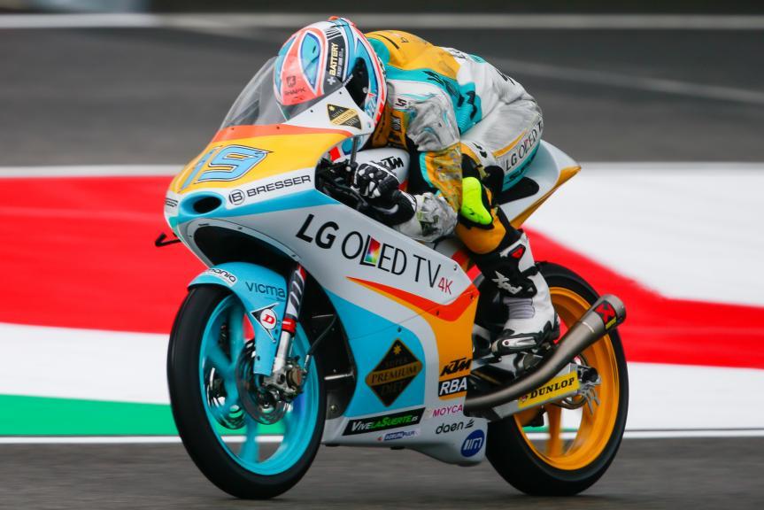 Gabriel Rodrigo, RBA Racing Team, Gran Premio d'Italia TIM