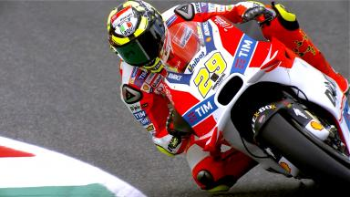 Highlights: Iannone sets blistering pace on Friday