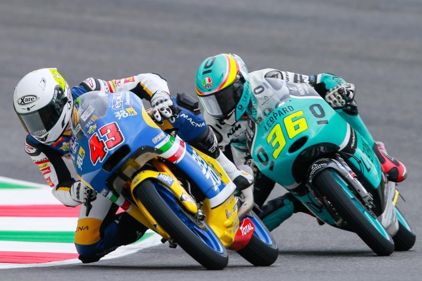 Stefano Valtulini, 3570 Team Italia, Joan Mir, Leopard Racing, Gran Premio d'Italia TIM