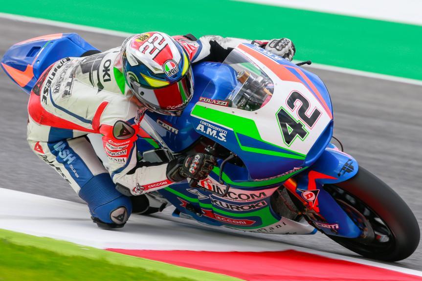 Federico Fuligini, Team Ciatti, Gran Premio d'Italia TIM