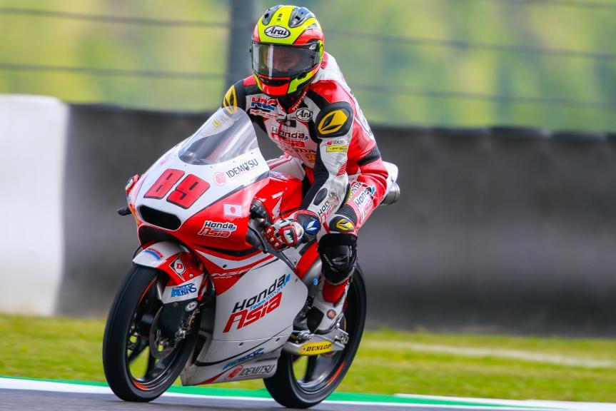 Khairul Idham Pawi, Honda Team Asia, Gran Premio d'Italia TIM