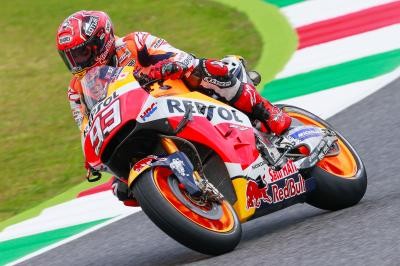 "Marquez: ""I expected to be a little further off'"