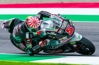 First Moto2™ practice topped by Zarco