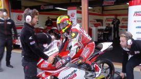 La prima sessione di prove libere per la Moto3™ al Mugello.