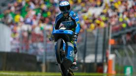 Romano Fenati claimed his third Moto3™ pole position and second of the season in front of his home fans at the Italian GP.