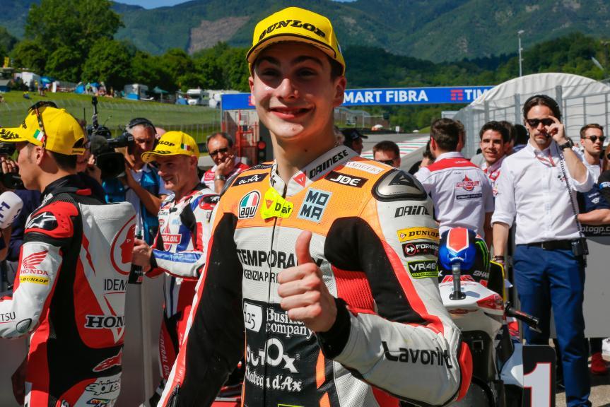 Lorenzo Baldassarri, Forward Team, Gran Premio d'Italia TI
