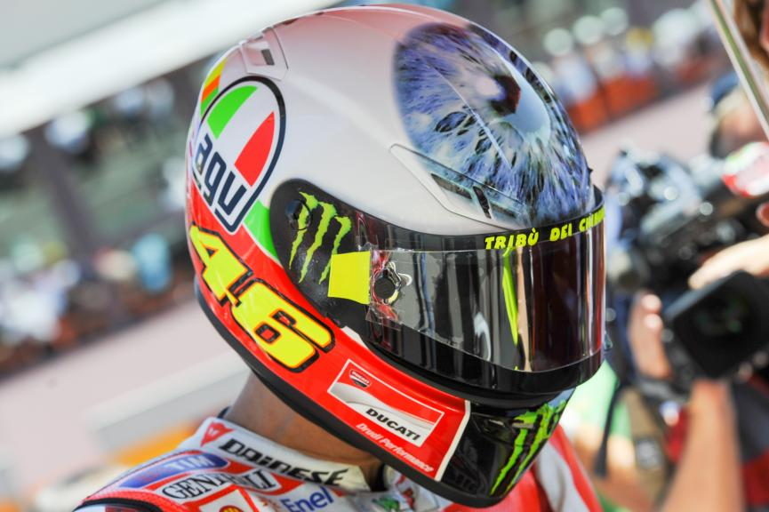 Rossi helmet, Muguello 2011