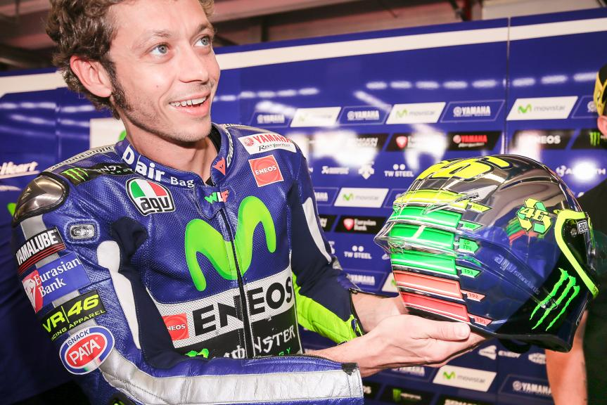 Rossi helmet, Muguello 2015