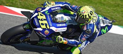 "Rossi präsentiert ""Mugiallo"" Helm"