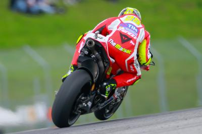 Iannone's form continues in Free Practice 4