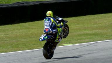 Highlights: Rossi auf heimischem Boden auf Pole!