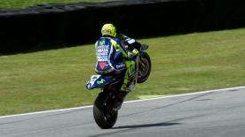 Valentino Rossi pulled off a sensational lap to record a record equalling 63rd GP pole position at his home grand prix in Mugello.