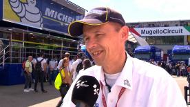 Michelin Racing's technical director Nicolas Goubert talks about tyre performance at the #ItalianGP.